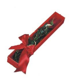 Uşak çiçek online çiçek siparişi  tek kutu gül sade ve sik
