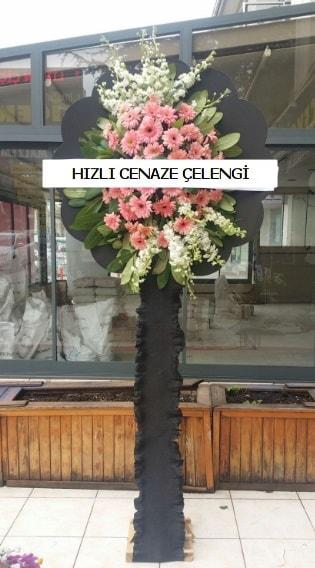 Hızlı cenaze çiçeği çelengi  Uşak çiçek yolla