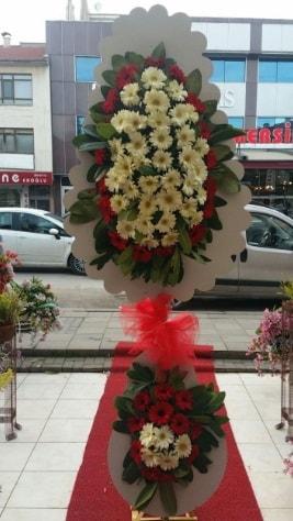 Çift katlı düğün açılış çiçeği  Uşak çiçek satışı