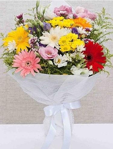 Karışık Mevsim Buketleri  Uşak ucuz çiçek gönder