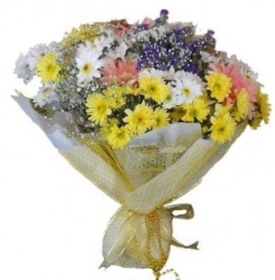 Karışık mevsim çiçeği  Uşak çiçek satışı