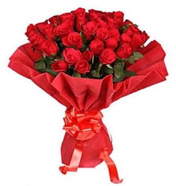 41 adet gülden görsel buket  Uşak çiçek satışı