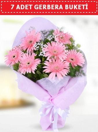 Pembe Gerbera Buketi  Uşak çiçek , çiçekçi , çiçekçilik