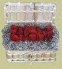 Uşak cicekciler , cicek siparisi  Sandikta 11 adet güller - sevdiklerinize en ideal seçim